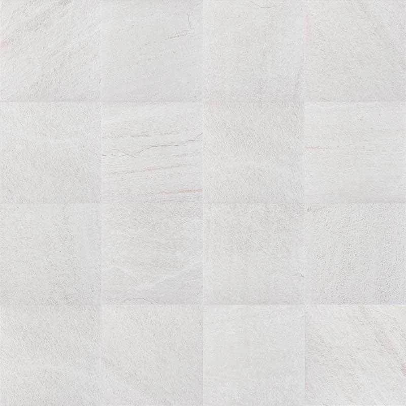 Pavimento de gres porcelánico Colección Serena color Bianco