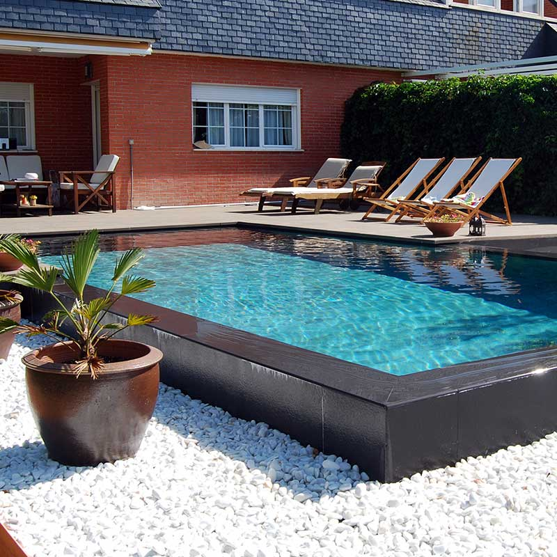 Elevated Pool private pool - complete solutions for your pool | rosa gres