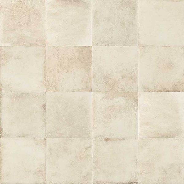Pavimento de gres porcelánico. Colección Bohème color Vanille
