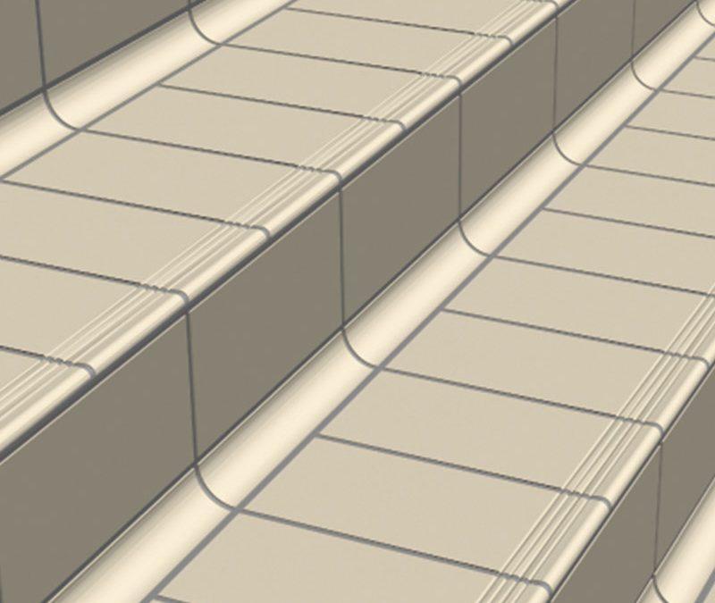 Pièce de marche plate Biostop