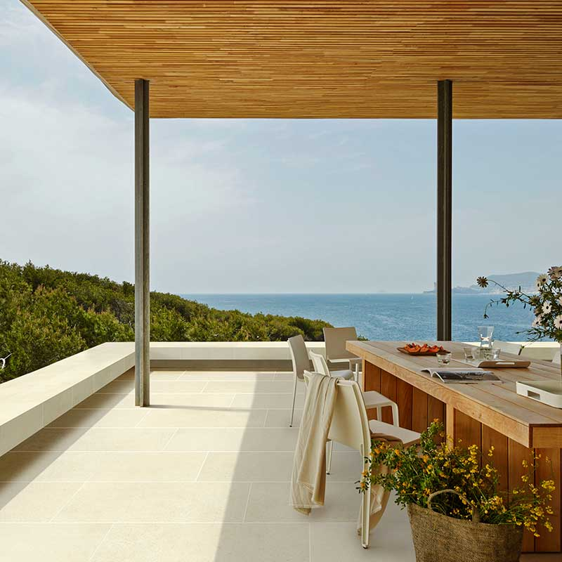 Rosa gres pavimento exteriores revestimiento para exteriores - Azulejos para terraza ...