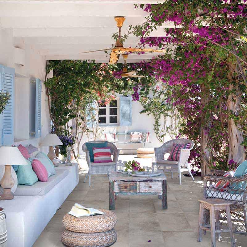 Rosa gres pavimento exteriores revestimiento para exteriores - Pavimentos rusticos para interiores ...