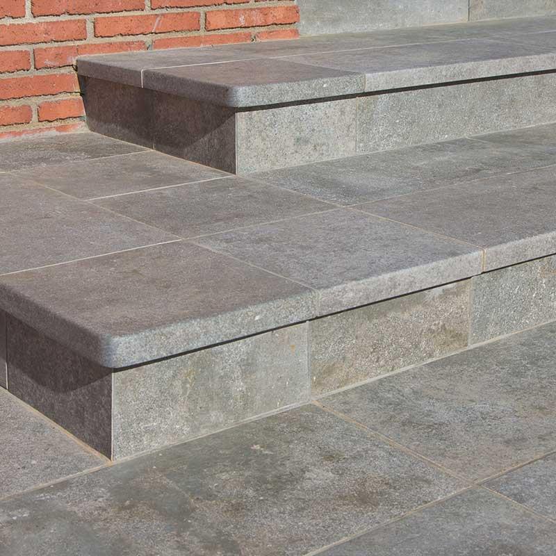Rosa gres pavimento exteriores revestimiento para - Gres para escaleras ...