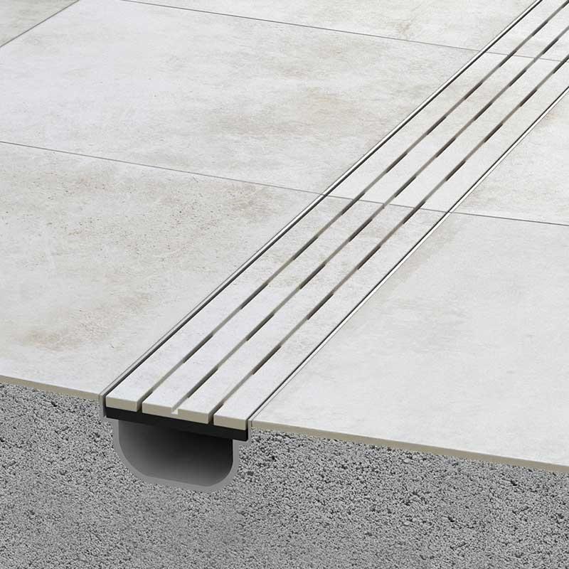 Rosa gres pavimento exteriores revestimiento para - Pintura para suelos de garaje ...