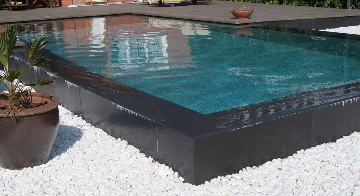 Elevated Pool elevated pool - a pool with an oriental touch | rosa gres