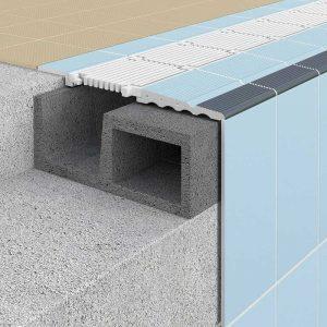 Detalle Sistema constructivo para piscinas Ergo S9