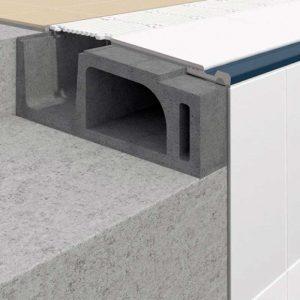 Detalle sistema constructuvivo para piscinas Horyzon S9 - Sistema 9