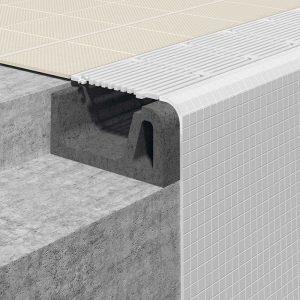 Detalle Sistema constructivo para piscinas Spa S9 - Sistema 9