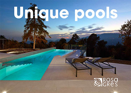 Catalogo Rosa Gres Unique Pools
