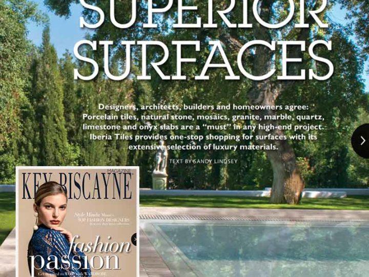Rosa Gres en el Key Biscayne Magazine