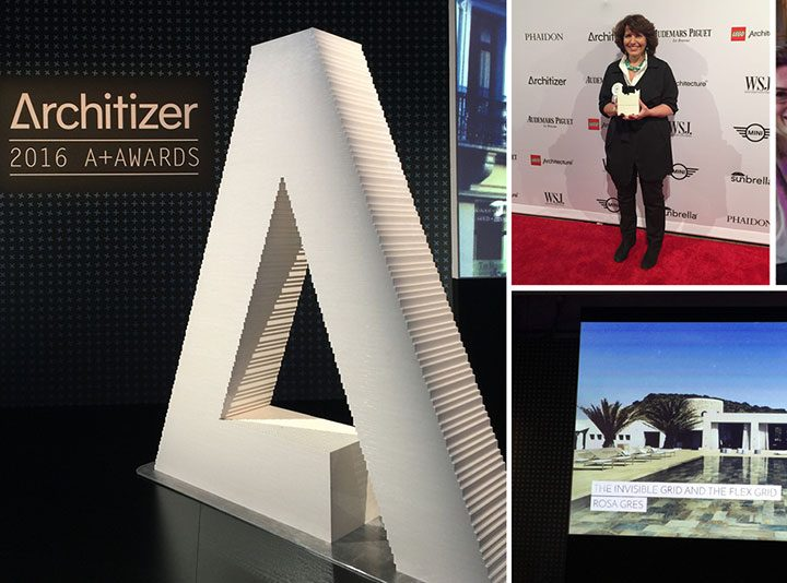 Rosa Gres at the Architizer Awards Gala