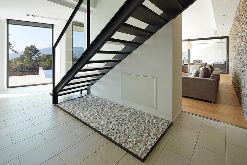 Escaleras De Hierro Para Exterior. Great Escalera De Hierro Y Madera ...