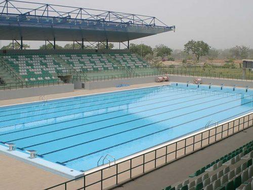 Guangdong Foshan Swimming Pool Complex China Rosa Gres