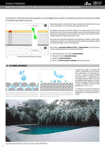 Ficha técnica de aspectos importantes para le ejecución sin azotea