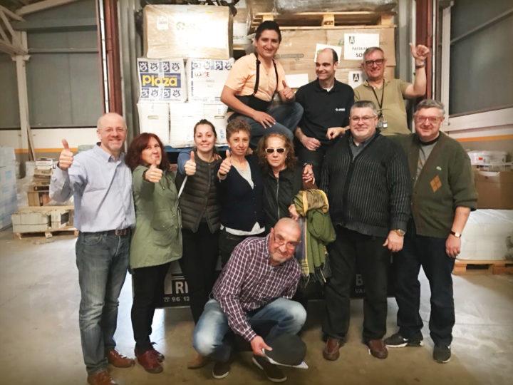 Rebost Solidari de Cerdanyola: destino, Lesbos