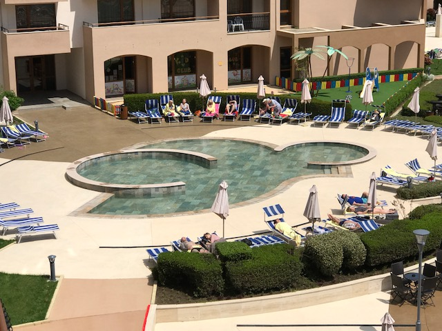 Pool & Spa Porcelain Stoneware Hotel Miramar Obzor