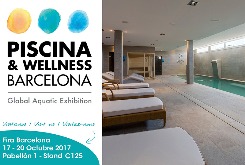 Piscina wellness barcelona 2017 rosa gres for Piscina wellness barcelona