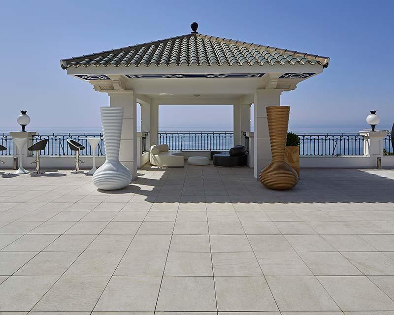 Gran Hotel Miramar Spa Parquet en grès cérame