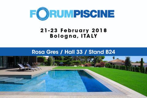 Feria Forum Piscine - Rosa Gres