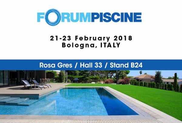 Fair Forum Piscine - Rosa Gres