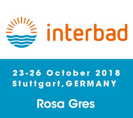 Feria Interbad Alemania - Rosa Gres