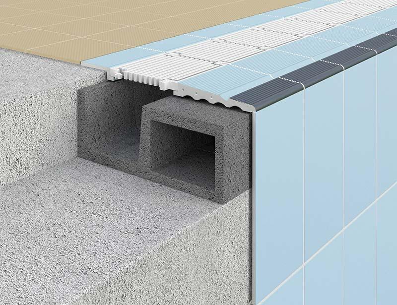 Sistema constructivo para piscinas Ergo S9 - Sistema 9