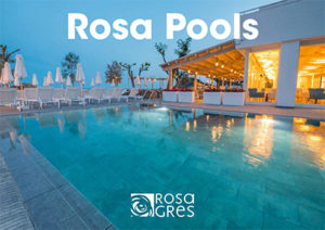 Catalogo de pavimento porcelánico Rosa Gres para Piscinas Rosa Pools