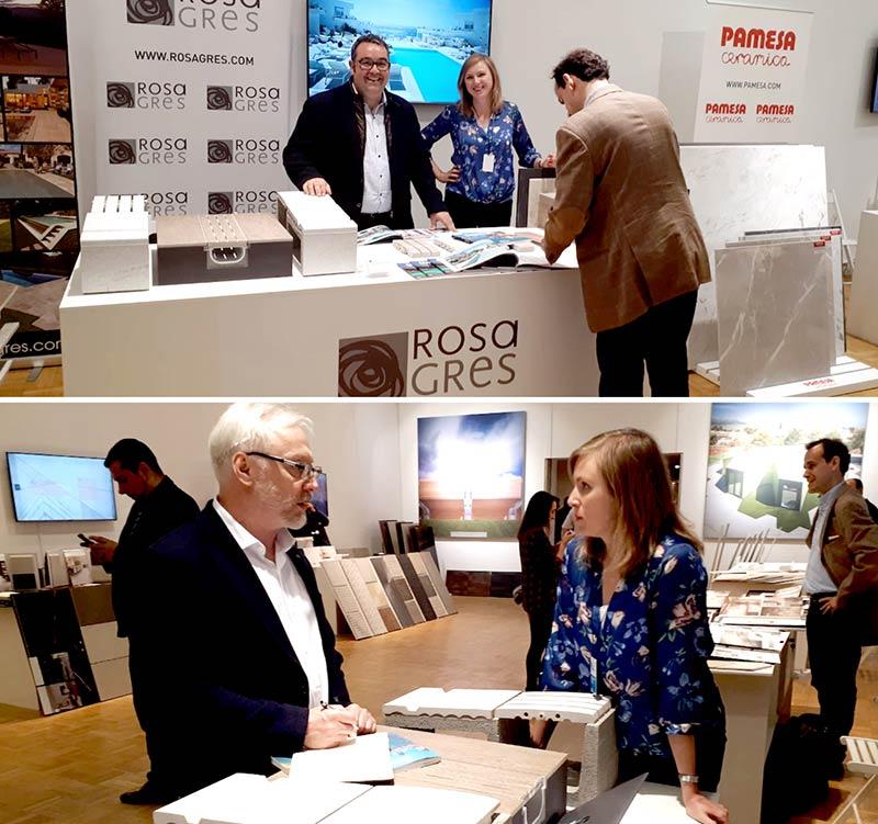 Rosa Gres à ArchMoscow 2018 - Foire d'architecture et de design en Russie