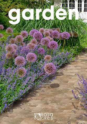 Catálogo revestimiento suelos exterior Rosa Gres, Colección Garden