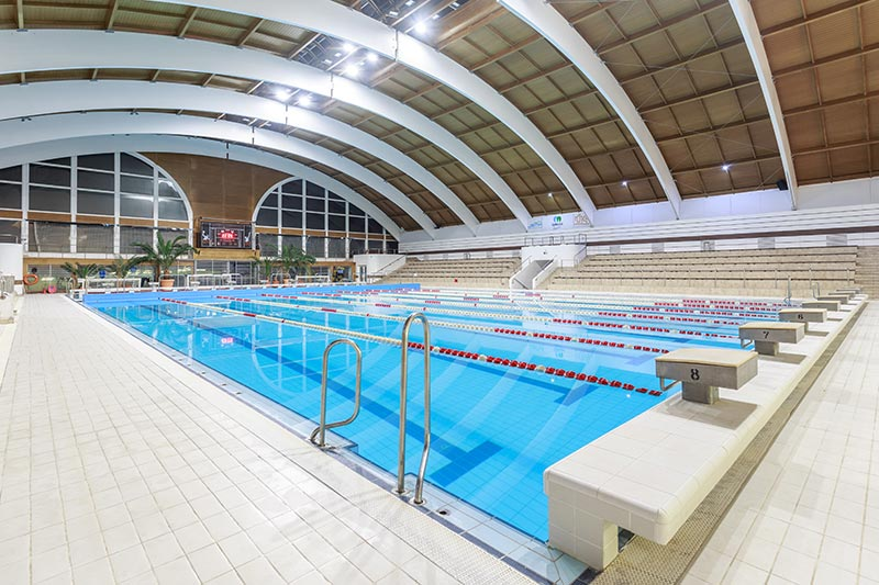 Nyéki Imre Swimming Pool, Budapest - Aqua Collection
