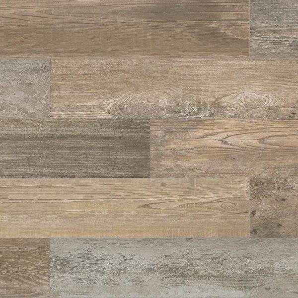 Pavimento de gres porcelánico imitación madera Colección Stela color Grey