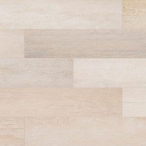Pavimento de gres porcelánico imitación madera Colección Stela color White