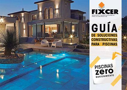 Fixcer: Guía de soluciones constructivas para piscinas de Rosa Gres.
