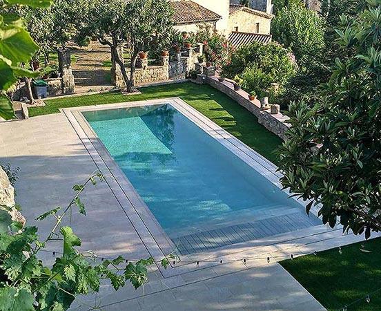 Rejilla Compact para piscinas de Líneas Rectas
