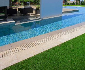 Flex Grid on pools with straight lines