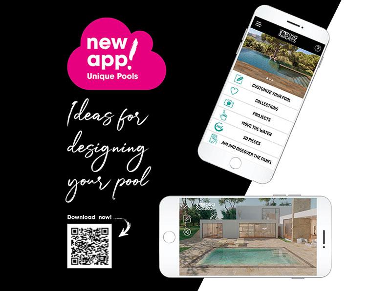 New App Unique Pools by Rosa Gres