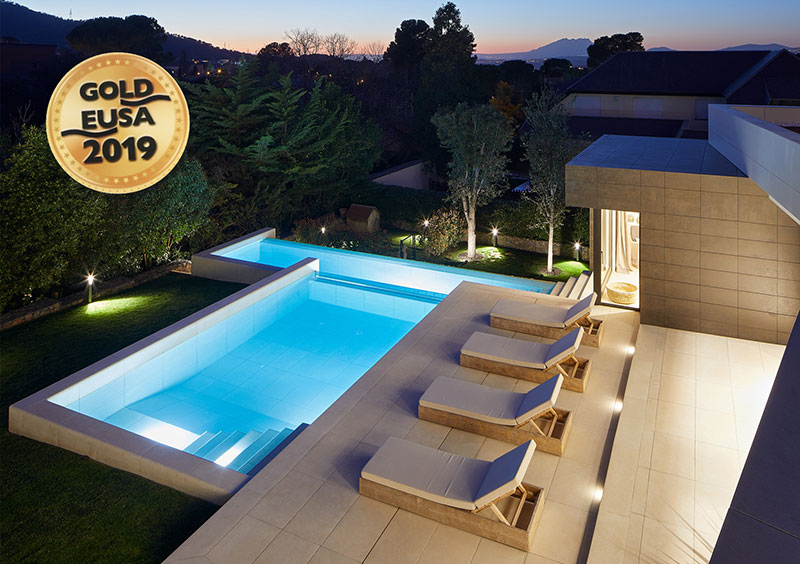 Best exterior private pool by Rosa Gres - EUSA Award 2019